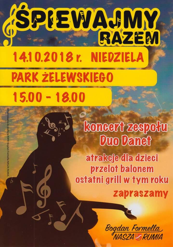 """Festyn w Janowie """"Śpiewajmy razem"""""""